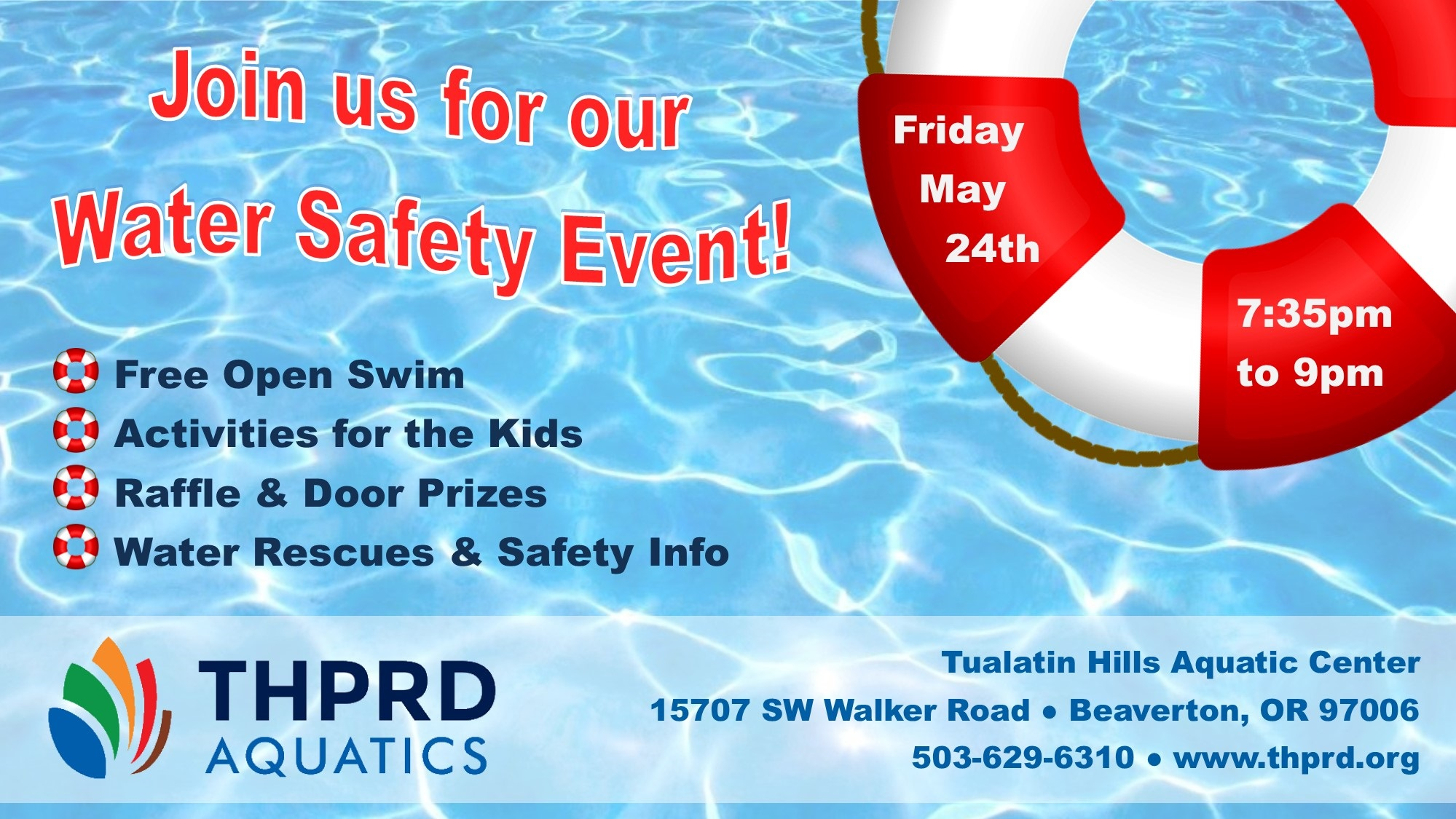 THPRD Events