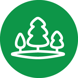 preserving natural spaces icon