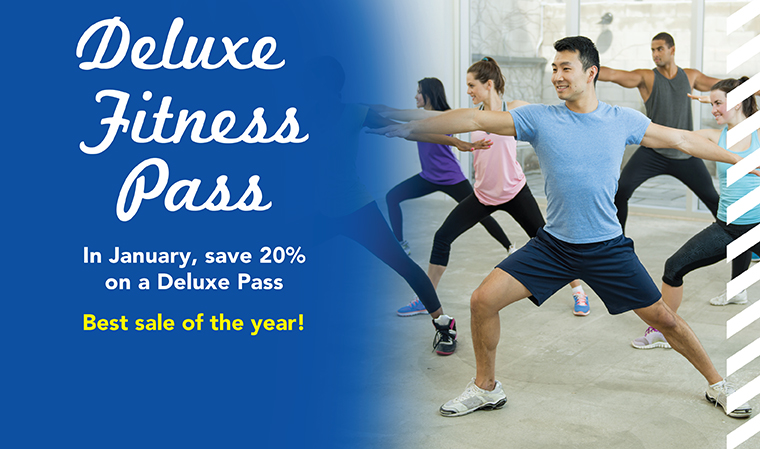 Deluxe Pass Sale - Available Jan. 1-31, 2019