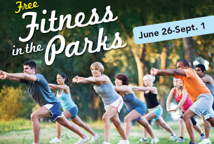Fitness in the Park - Enjoy a fresh, free workout!