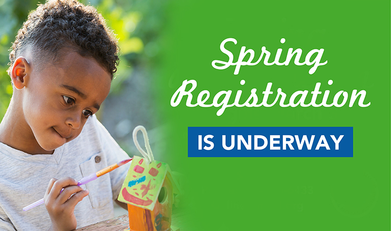 Spring Is Coming  - Registration is now underway