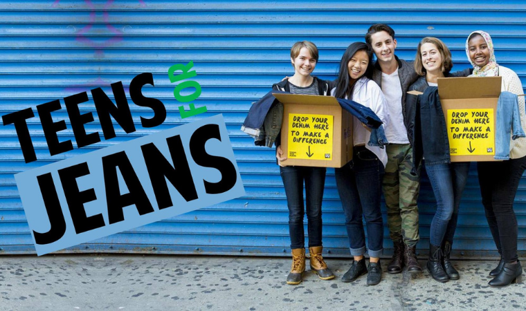 Teens for Jeans - Donate Your Unused Jeans